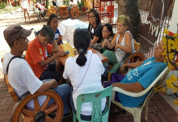 PAPE Focus Group Discussion for Elderly Residents held at Brgy Bagong Silangan