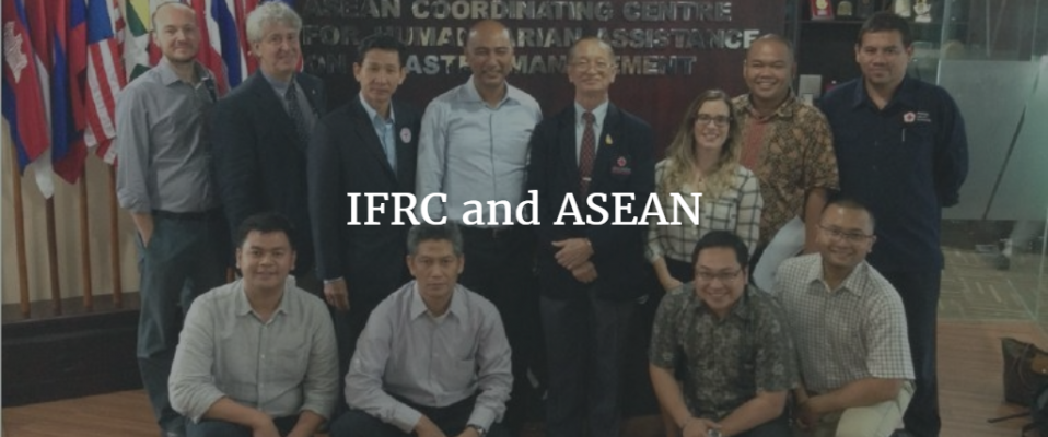 IFRC and ASEAN with text