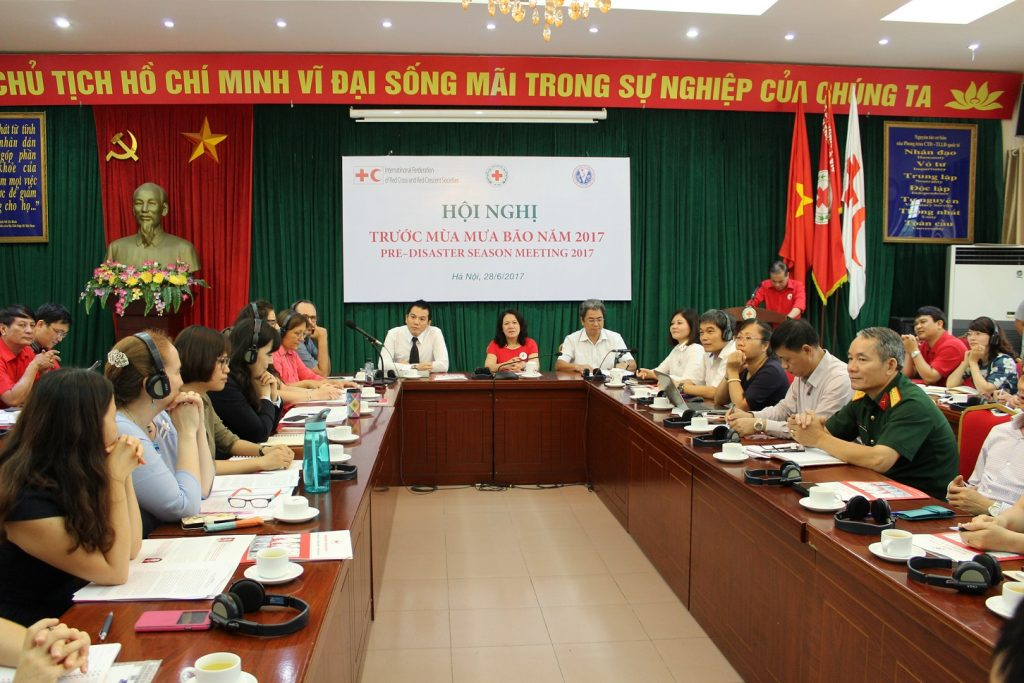 Pre-Disaster Season Meeting 2017 - Vietnam Red Cross Society 27 June 2017