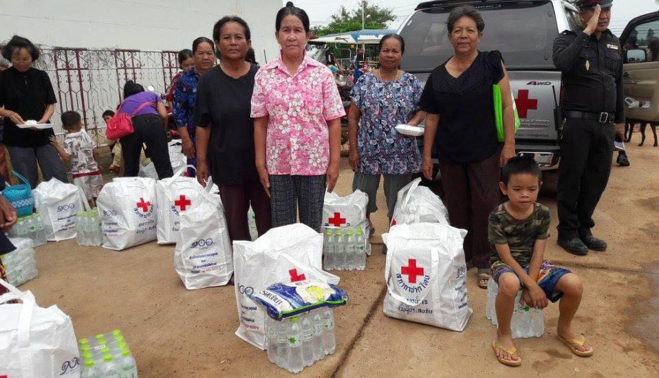 Thai Red Cross Society: Flood Relief Operations August 2017