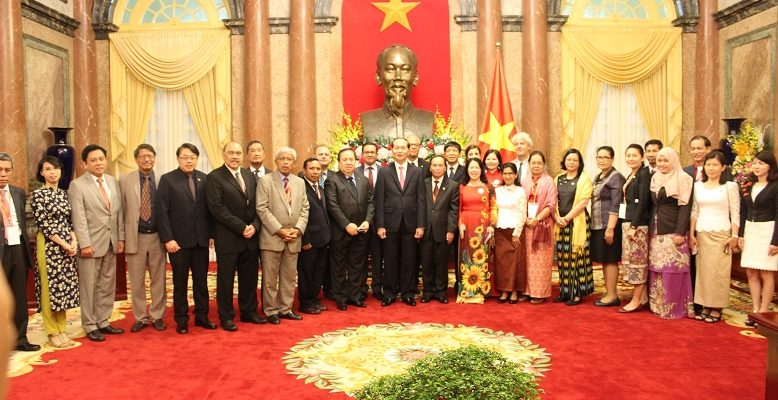 Courtesy Meeting with State President of Vietnam