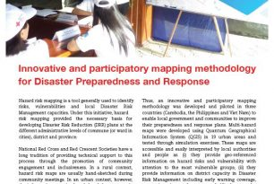 Case Study: Building Urban Resilience in Southeast Asia – Innovative participatory mapping methodology for disaster preparedness and response