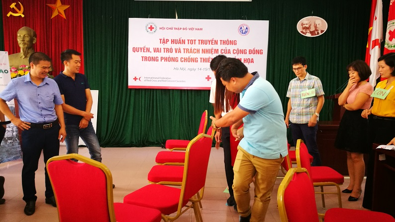 Disaster law training of trainers for Northern Red Cross Chapters of Vietnam: On 14-15 November 2017, the second training of trainers (TOT) on disaster law dissemination took place in Hanoi.