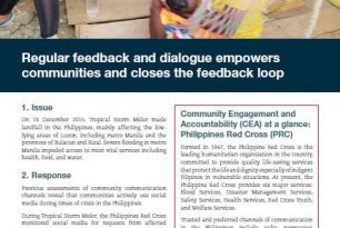 Regular Feedback and Dialogue Empowers Communities and Closes the Feedback Loop
