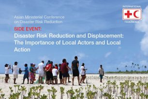 Side Event | Disaster Risk Reduction and Displacement: The Importance of Local Actors and Local Action