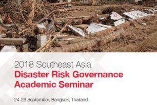 Disaster Risk Governance Academic Seminar 2018 – Proceeding